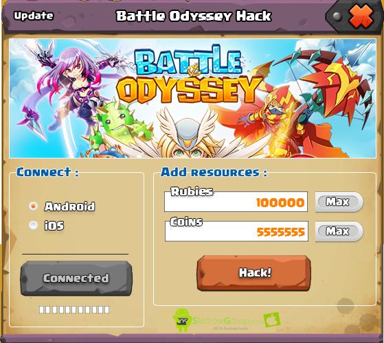 Battle Odyssey Hack