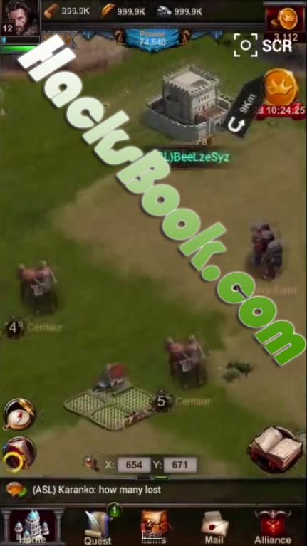 Clash of Kings Hacked
