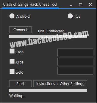 Clash of Gangs Hack Tool