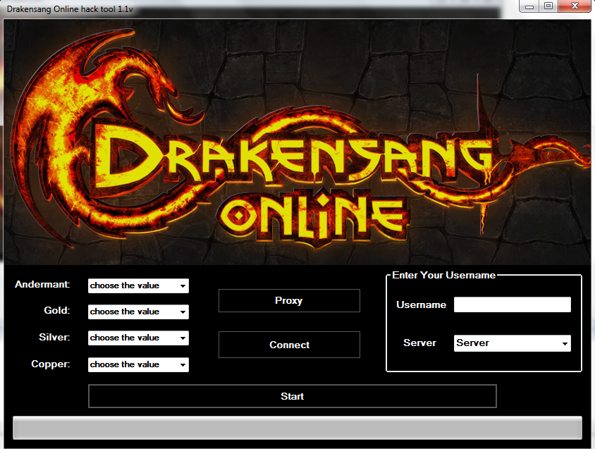 DrakenSang Online Hack Cheats