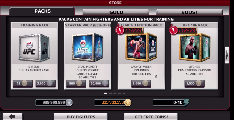 EA Sports UFC Hacked