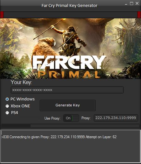 Far Cry Primal Key Generator