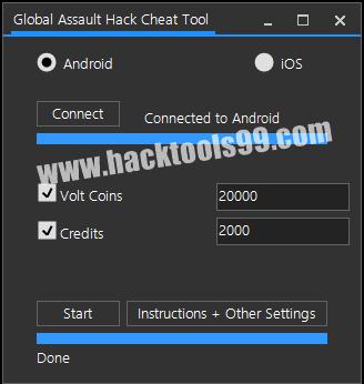 Global Assault Cheat Tool