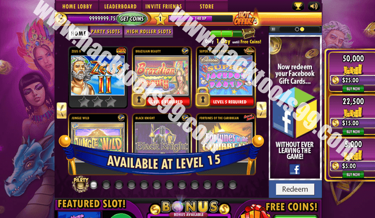 Jackpot Party Casino Slots Hack Working Proof