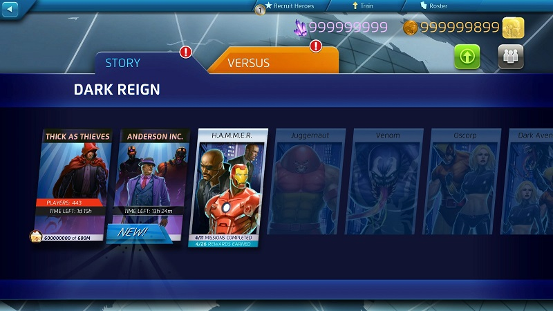 Marvel Puzzle Quest Dark Reign for Steam 1 Marvel Puzzle Quest Hack Tool & Cheats – Marvel Puzzle Quest Crystals, Gold Coins and Energy