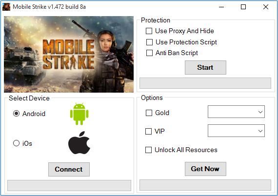 Mobile Strike Gold Hack
