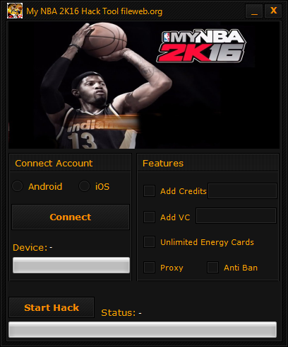 My NBA 2K16 Hack Download (Android/iOS)