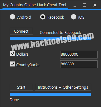 My Country Online Cheat Tool