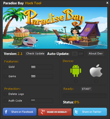 Paradise Bay Hack Coins Add Unlimited Gems Works for all iOS/Android Devices