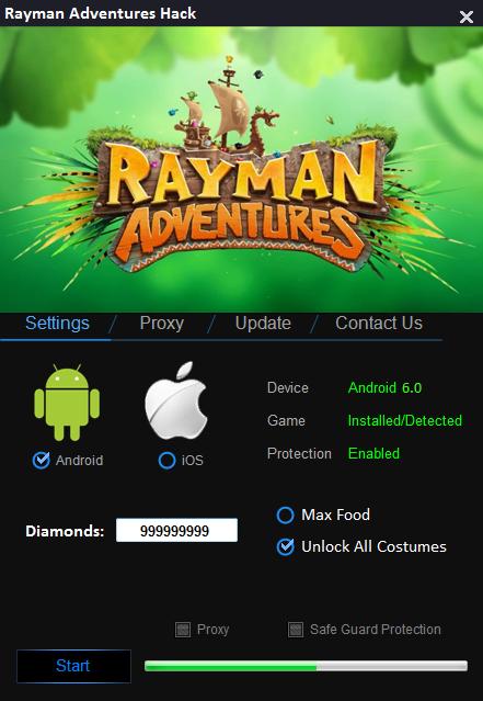 Rayman Adventures Hack