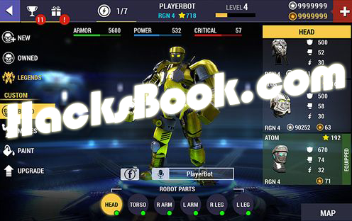 Real Steel Champions Hacked