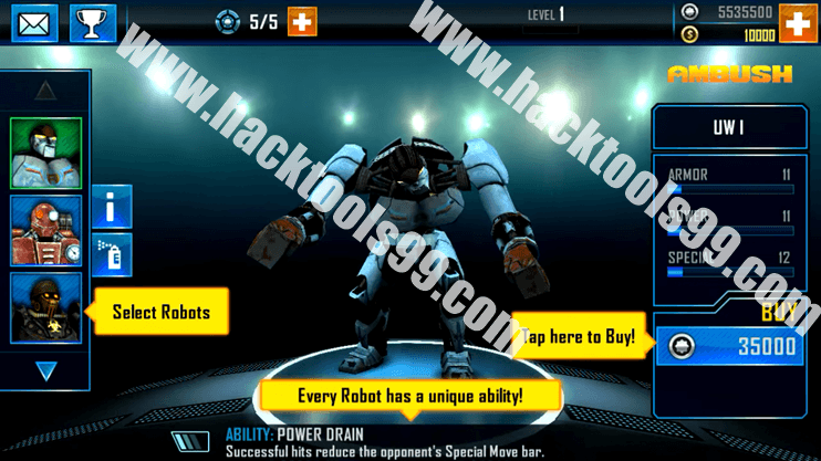 Real Steel World Robot Boxing Hack Working Proof