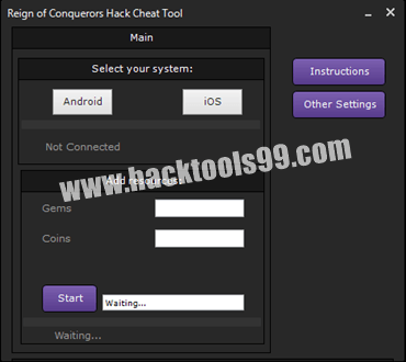 Reign of Conquerors Hack Tool