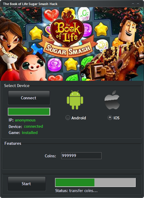 RollerCoaster Tycoon 4 Mobile Hack1 Telecharger Book of Life: Sugar Smash Hack [Android / IOS] – Comment Pirater Book of Life: Sugar Smash Triche