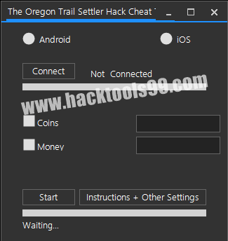 The Oregon Trail Settler Hack Tool