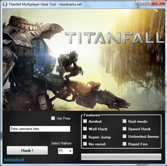Titanfall Multiplayer Hack Tool
