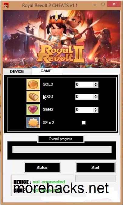 Royal Revolt 2 Hack Tool Cheats