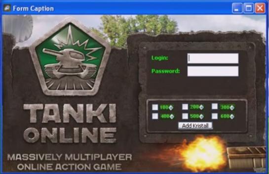 Tanki Online Kristall Hack Tool