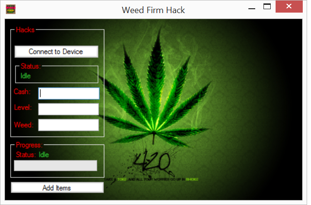 Weed Firm Hack Tool