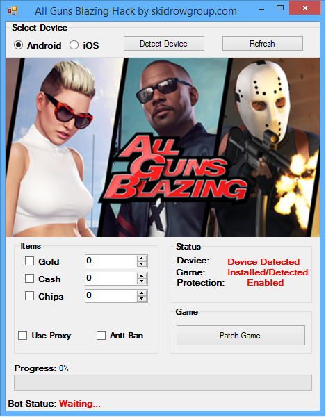 All Guns Blazing Hack