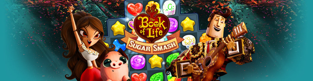 book of life 1024x266 Telecharger Book of Life: Sugar Smash Hack [Android / IOS] – Comment Pirater Book of Life: Sugar Smash Triche