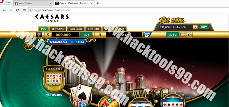 Caesars Casino Hack Working Proof
