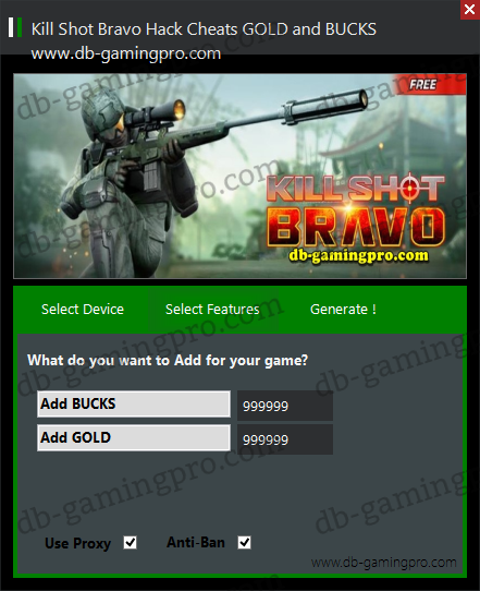 Kill Shot Bravo Hack Cheats