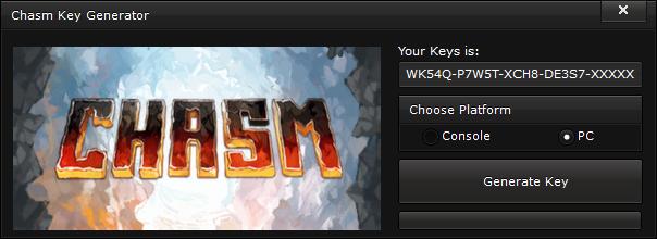 chasm key generator free activation code 2015 Chasm Key Generator – FREE Activation Code 2015