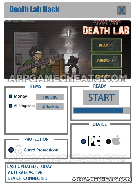 death-lab-cheats-hack-money-all-upgrades