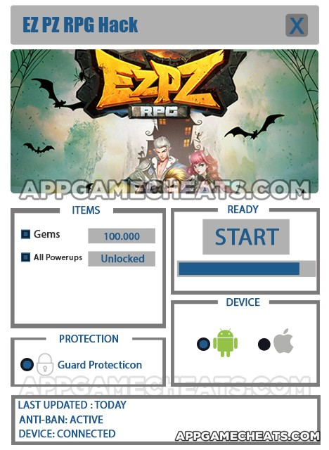 EP PZ RPG Hack for Gems & All Powerups Unlock