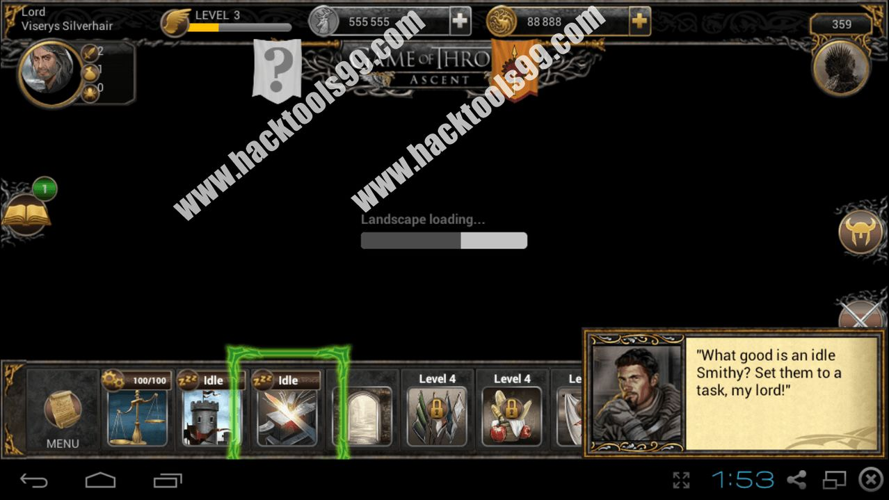 Game of Thrones Ascent Hack Working Proof