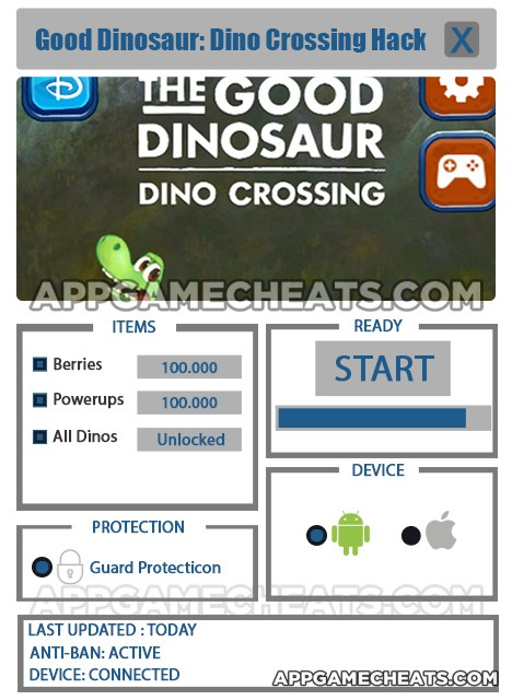 good-dinosaur-dino-crossing-cheats-hack-berries-powerups-all-dinos
