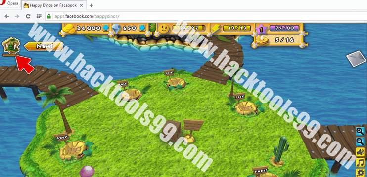 Happy Dinos Hack Working Proof