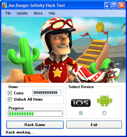 joe danger infinity hack tool download Joe Danger Infinity Hack Tool Download