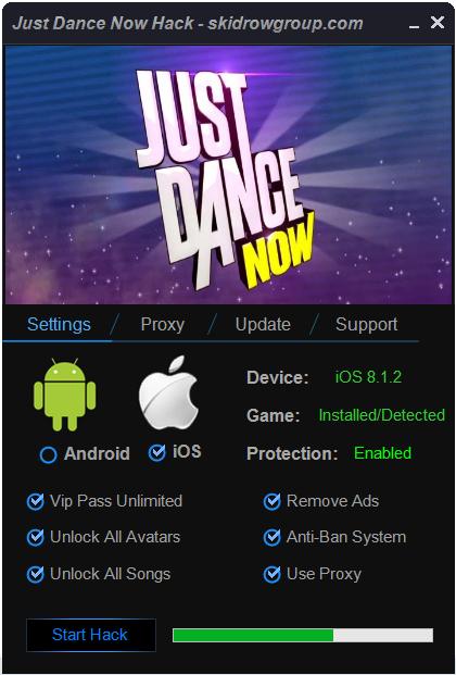 Just Dance Now Hack Vip Pass Unlimited, Unlock All Avatars