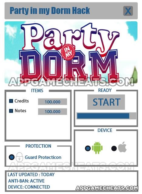 Party in my Dorm Hack