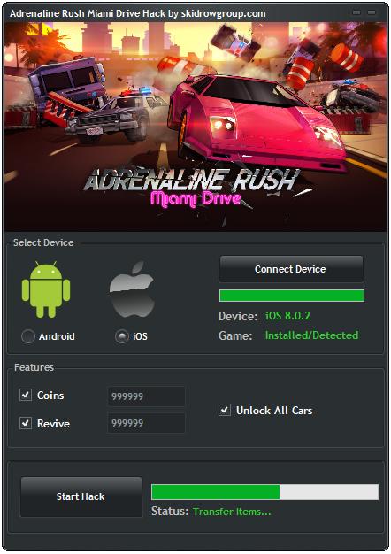 Adrenaline Rush Miami Drive Hack
