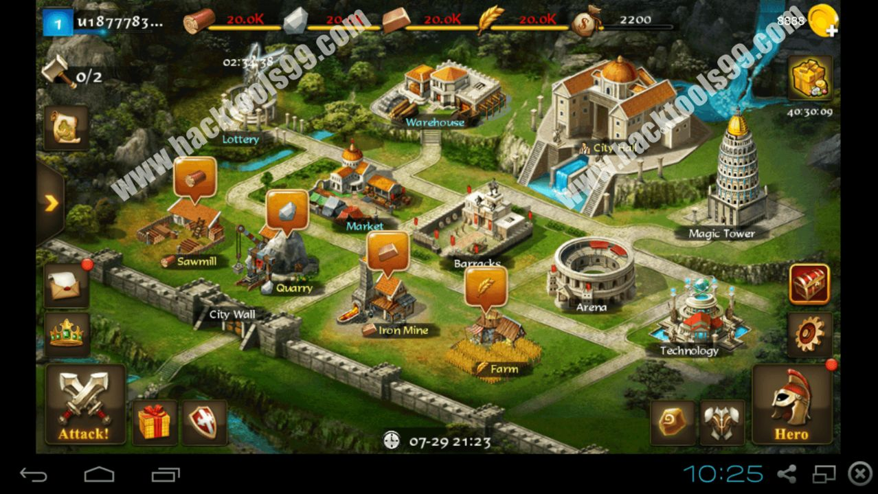 Age of Warring Empire Hack Working Proof