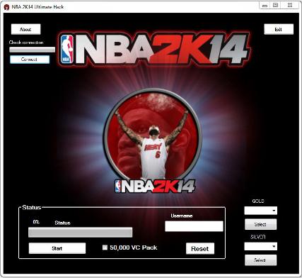 NBA 2K14 Hack Trainer Tool VC Cheat