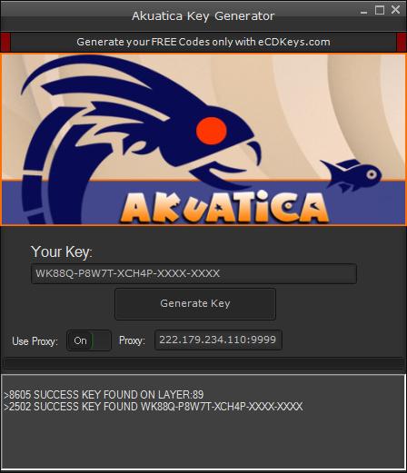 Akuatica cd-key