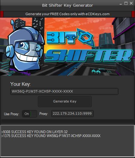 Bit Shifter cd-key