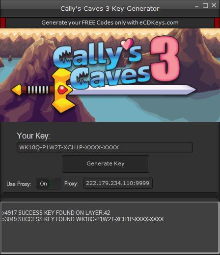 Cally's Caves 3 cd-key