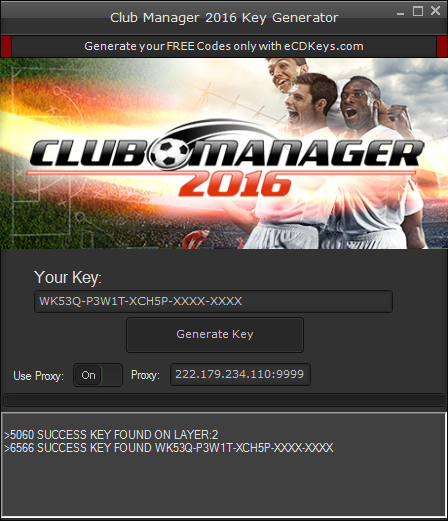 Club Manager 2016 cd-key