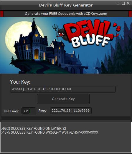 Devil's Bluff cd-key