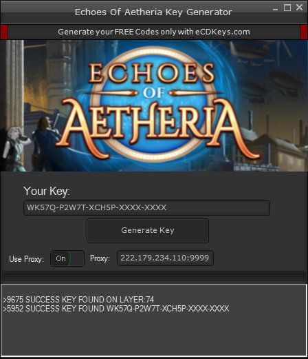 Echoes Of Aetheria cd-key
