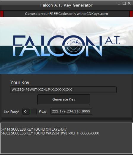 Falcon A.T. cd-key