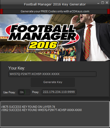 Football Manager 2016 cd-key