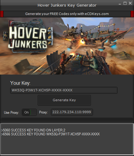 Hover Junkers cd-key