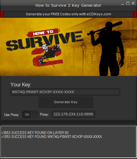 How to Survive 2 cd-key