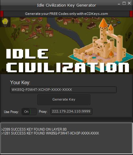 Idle Civilization cd-key